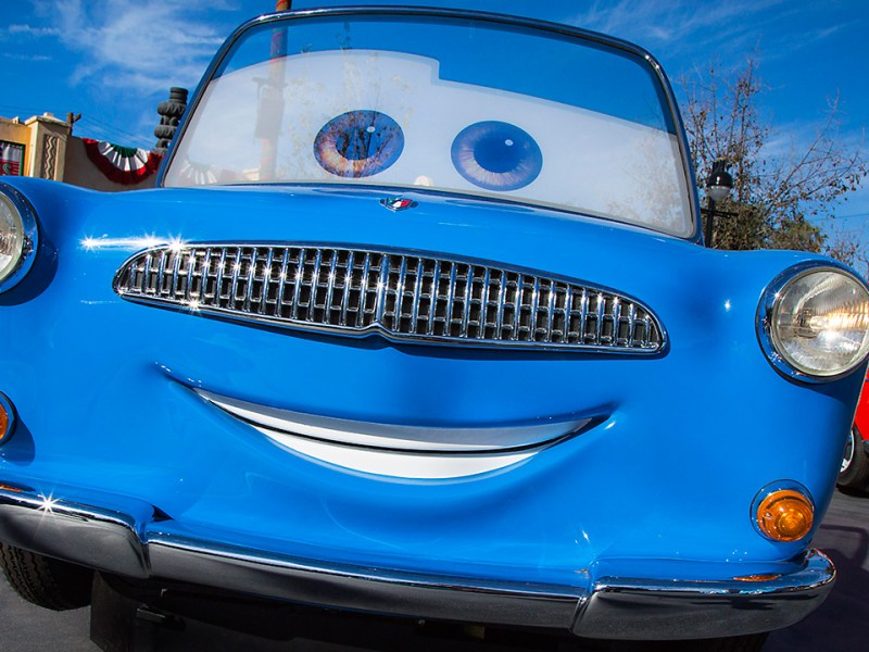Luigi's Rollickin' Roadsters en Disney California Adventure