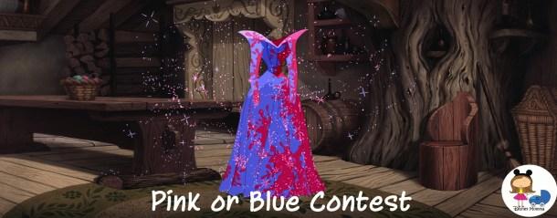 Sleeping Beauty pink blue
