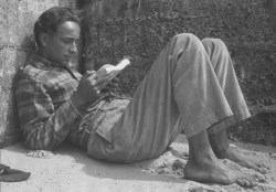 Lewis Coser reading, early 1950s.