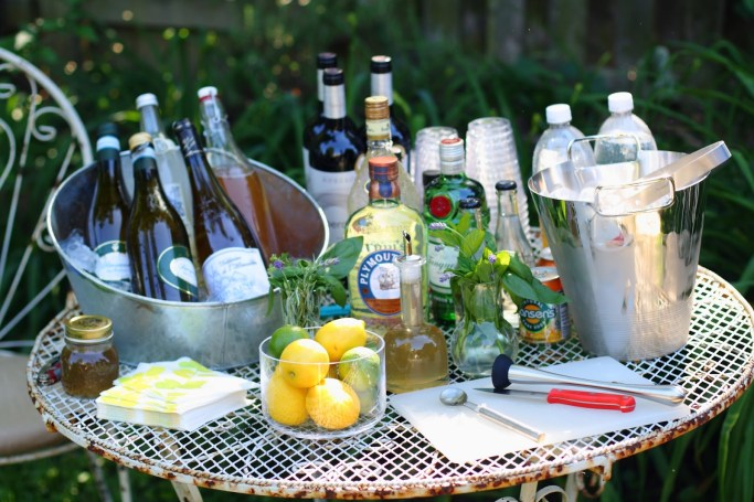 gin and tonic bar