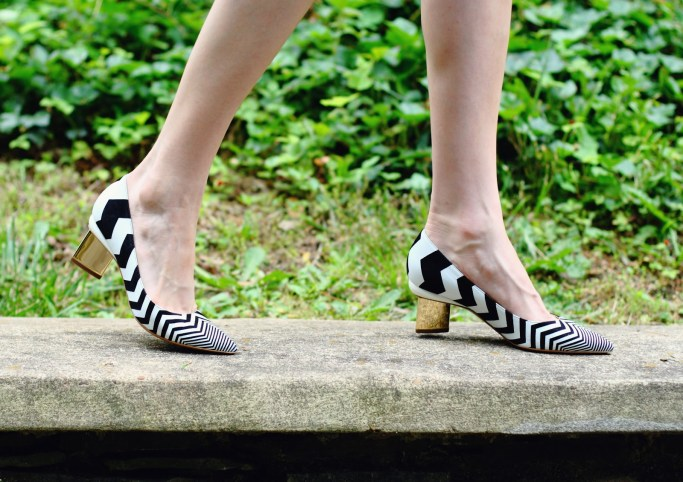 Nicholas Kirkwood zig-zag shoes
