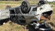 El accidente se produjo en el kilómetro 272, a unos 10 kilómetros de la planta urbana de la mencionada localidad el sábado a las 14:30 hs. En el Toyota Corolla […]
