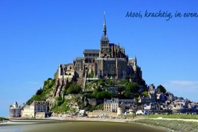 Het imposante Mont Saint-Michel (Foto: www.montsaintmichel.nl)