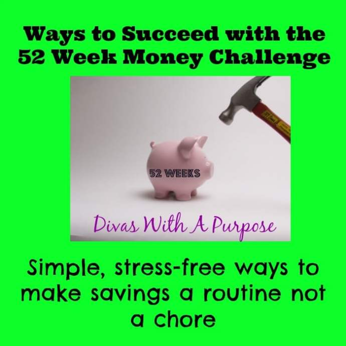 Succeed At The 52 Week Money Challenge
