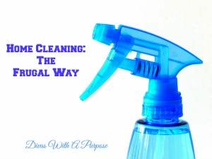 Home Cleaning The Frugal Way