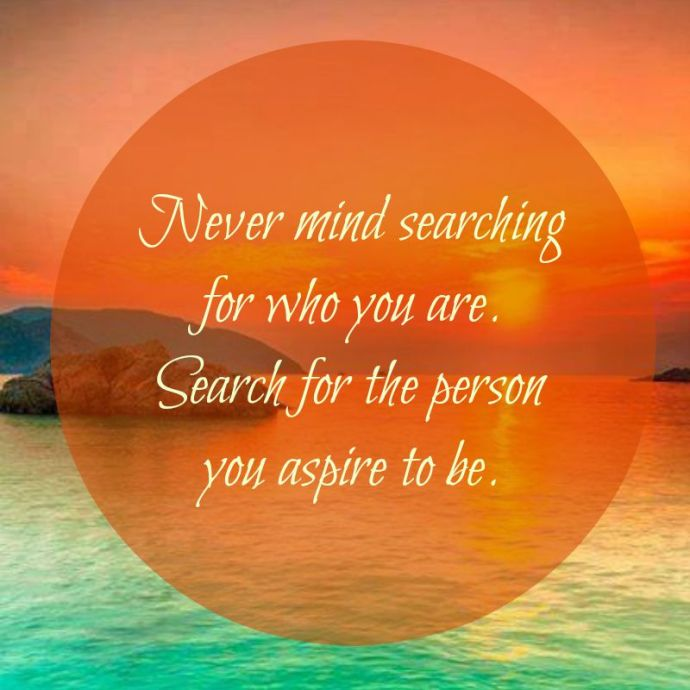 Monday Motivation: Search For Yourself