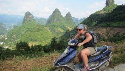 Yangshuo China Scooter Adventure