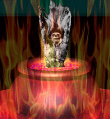 Cauldron of fire
