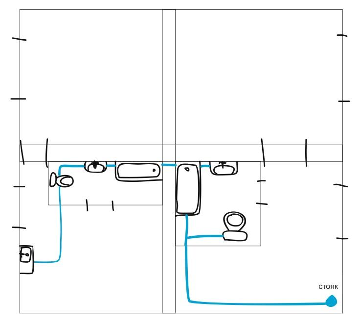 План канализации