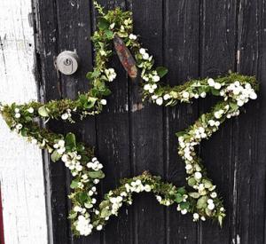 Christmas Star Wreath