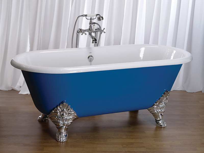 ... How To Paint Clawfoot Tub The Homy Design Regarding Cast Iron Clawfoot  Tub Refinishing · Painting Bath Feet ...