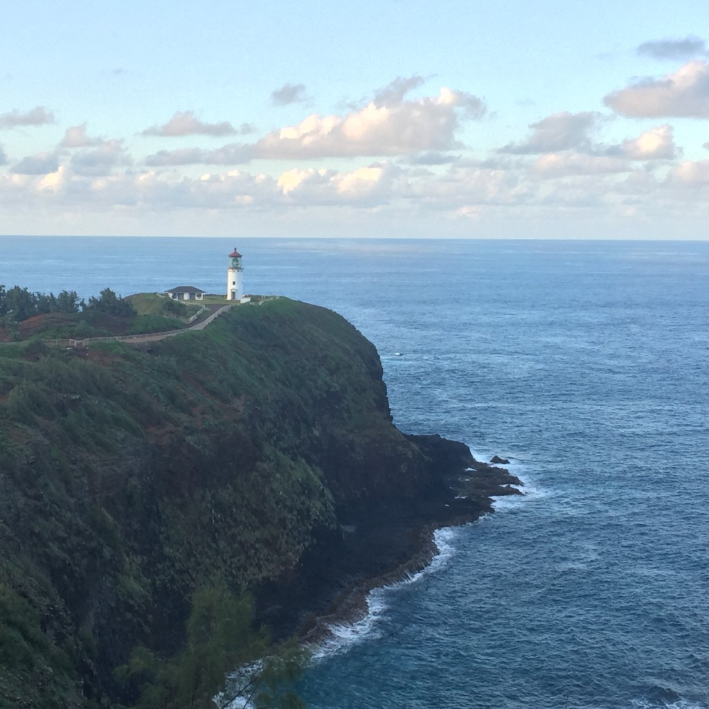 Lighthouse in Kauai Hawaii