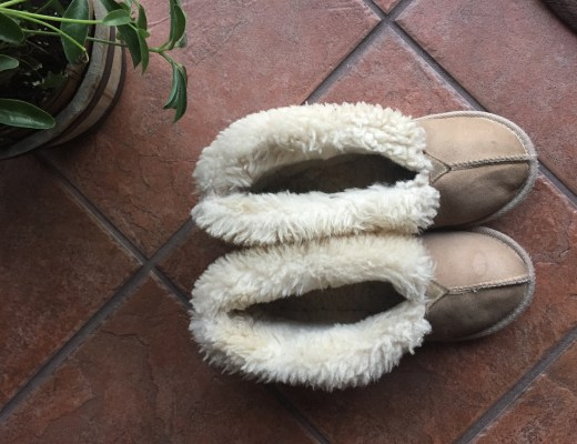 Best slippers EVER made from sheepskin