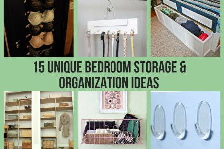 15 unique bedroom storage ization ideas