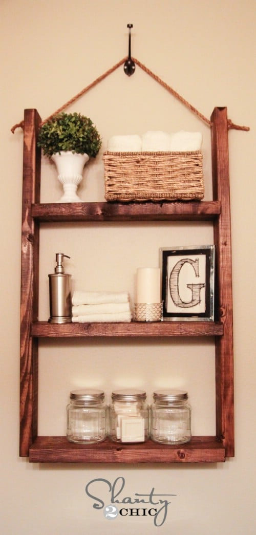 Easy diy wall mounted shelves wall wood project and diy for How to make wall shelves easy