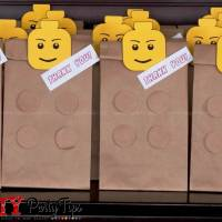 FREE PRINTABLE: Lego Party Lootbags