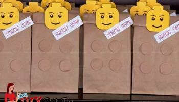 FREE PRINTABLE Lego Party Lootbags