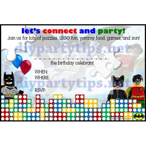 Medium Crop Of Lego Birthday Invitations