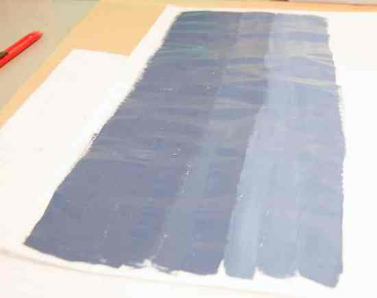 How to Paint an Ombre