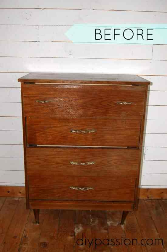 Annie Sloan Dresser BEFORE