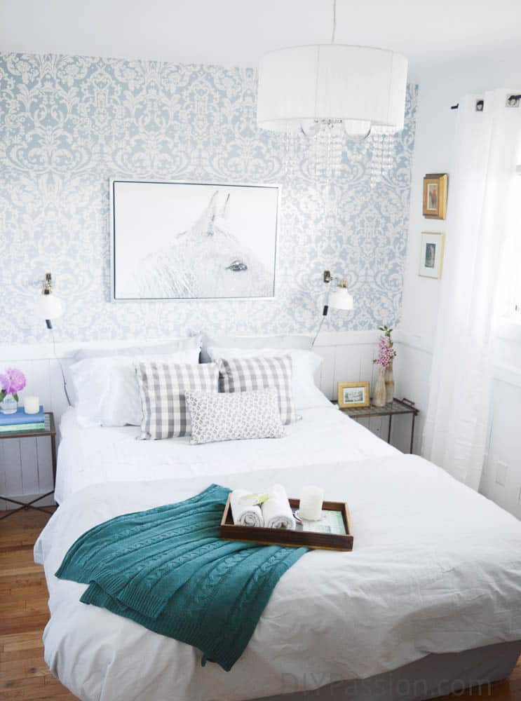 Our Fresh and Floral Guest Room Makeover