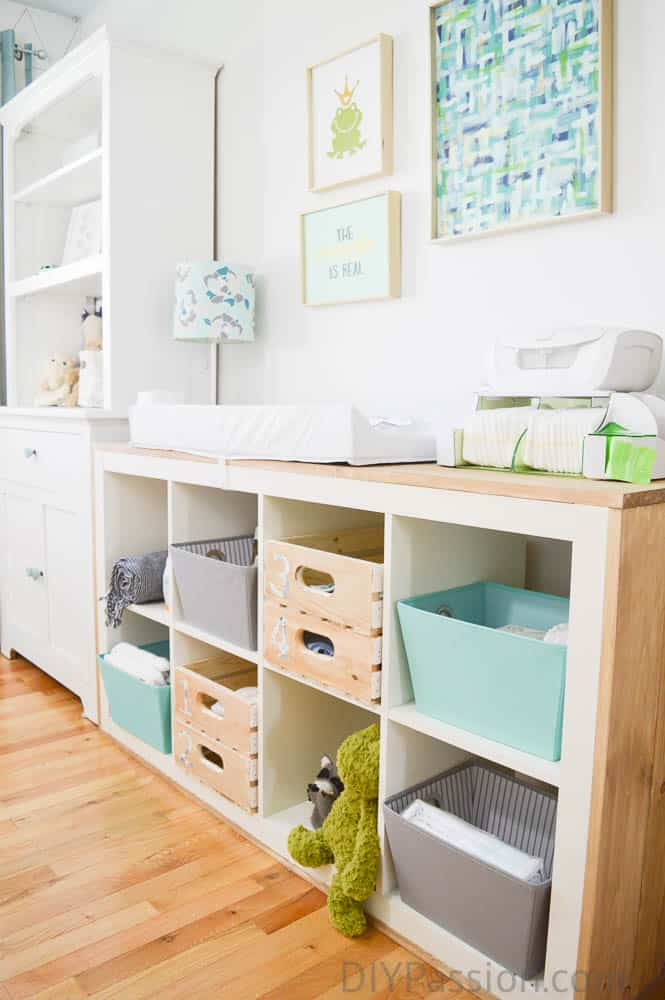 How to Organize a Nursery and Repurpose Old Furniture