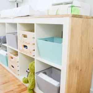DIY Nursery Change Table
