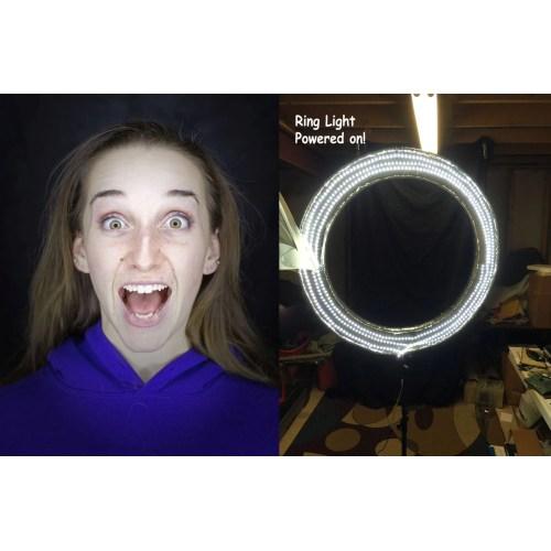 Medium Crop Of Ring Light Photography