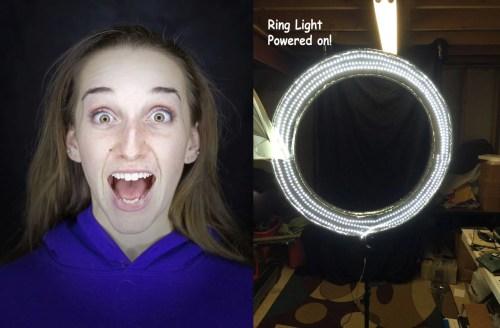 Medium Of Ring Light Photography