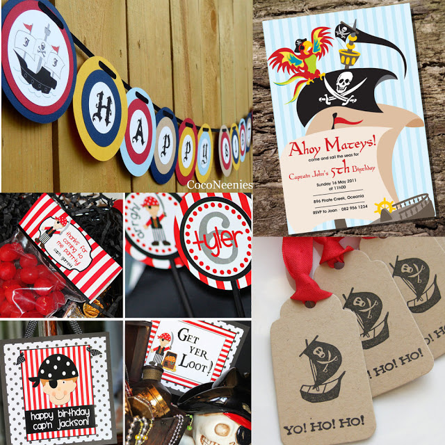 Pirate Theme Children's Party