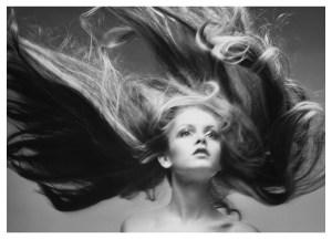 Twiggy fotograferet af Richard Avedon