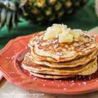 Pina Colada Pancakes #SundaySupper
