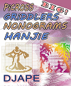 Big Picross-Griddlers-Nonograms-Hanjie book