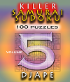 Killer_Samurai Sudoku, volume 5