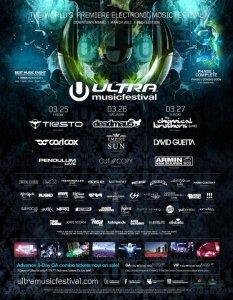 Ultra Music Festival 2011 Miami