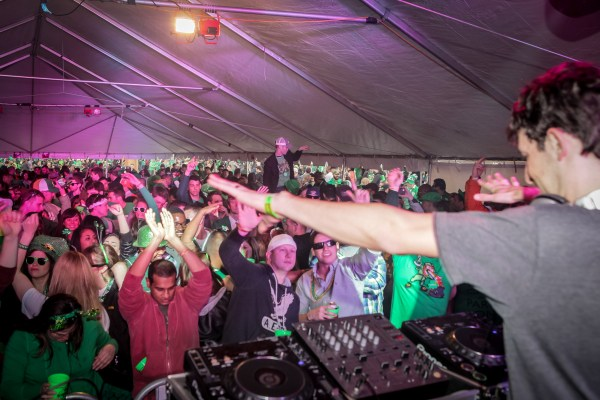 DJ stage at Shamrockfest: a Gallery from 2007 – 2013