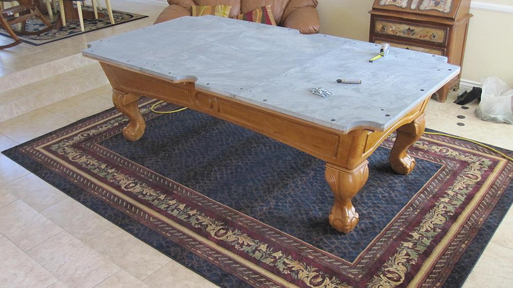 Classic oak beauty dk billiards pool table movers repair for Oak beauty pool table