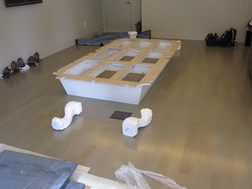 Essex pool table