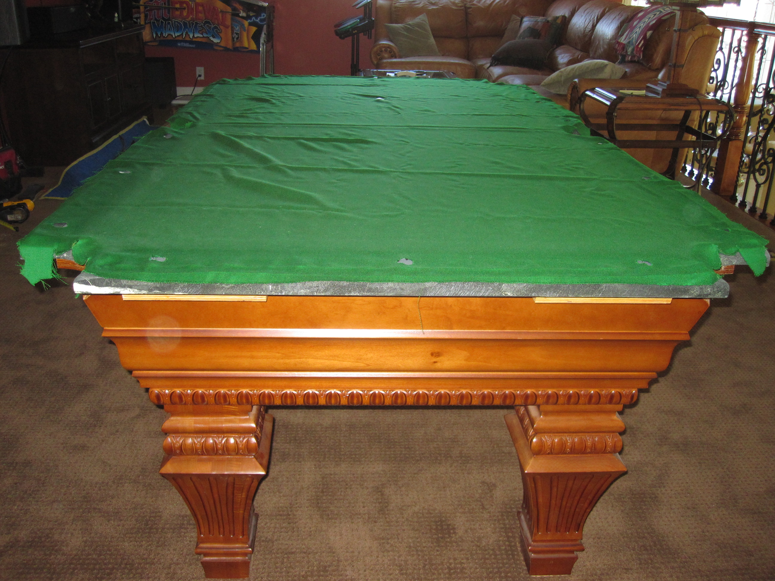 How To Install A Slate Pool Table Dk Billiards Pool