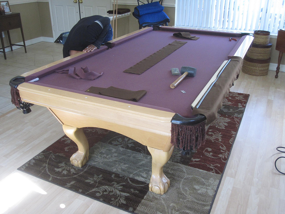 What Can Brown Do For You Dk Billiards Pool Table