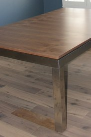 The Fusion Table with it's dining tops on.