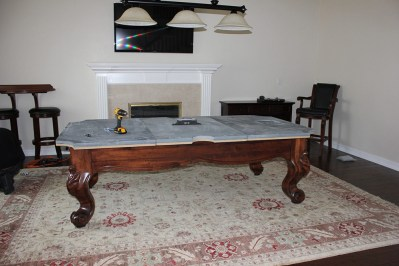 I always use a Starrett machinist's level to install all of my client's pool tables.