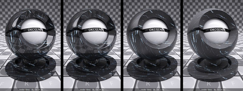 V-Ray Reflection Glosiness