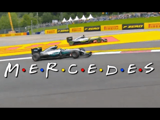 If you are a fan of Friends and F1 you'll enjoy this mash up