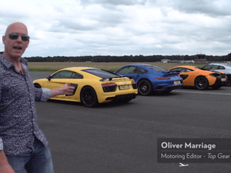 Another great Top Gear drag race