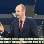 Daniel Hannan: Nie wysyłajcie nam rachunku za tragedię euro…