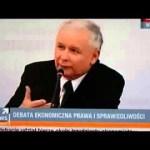 Jarosław Kaczyński: prawo jest dla prawników, a nie dla obywateli