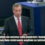 Nigel Farage: Europejski sen się rozpada
