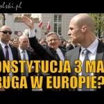 """Konstytucja 3 Maja druga w Europie"""