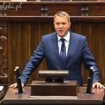 Przemysław Wipler w Sejmie – wypowiedź ws. ujawnienia akt z afery taśmowej